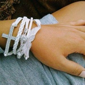 Jewelry - Faith + Loyalty + Freedom Charm Bracelet